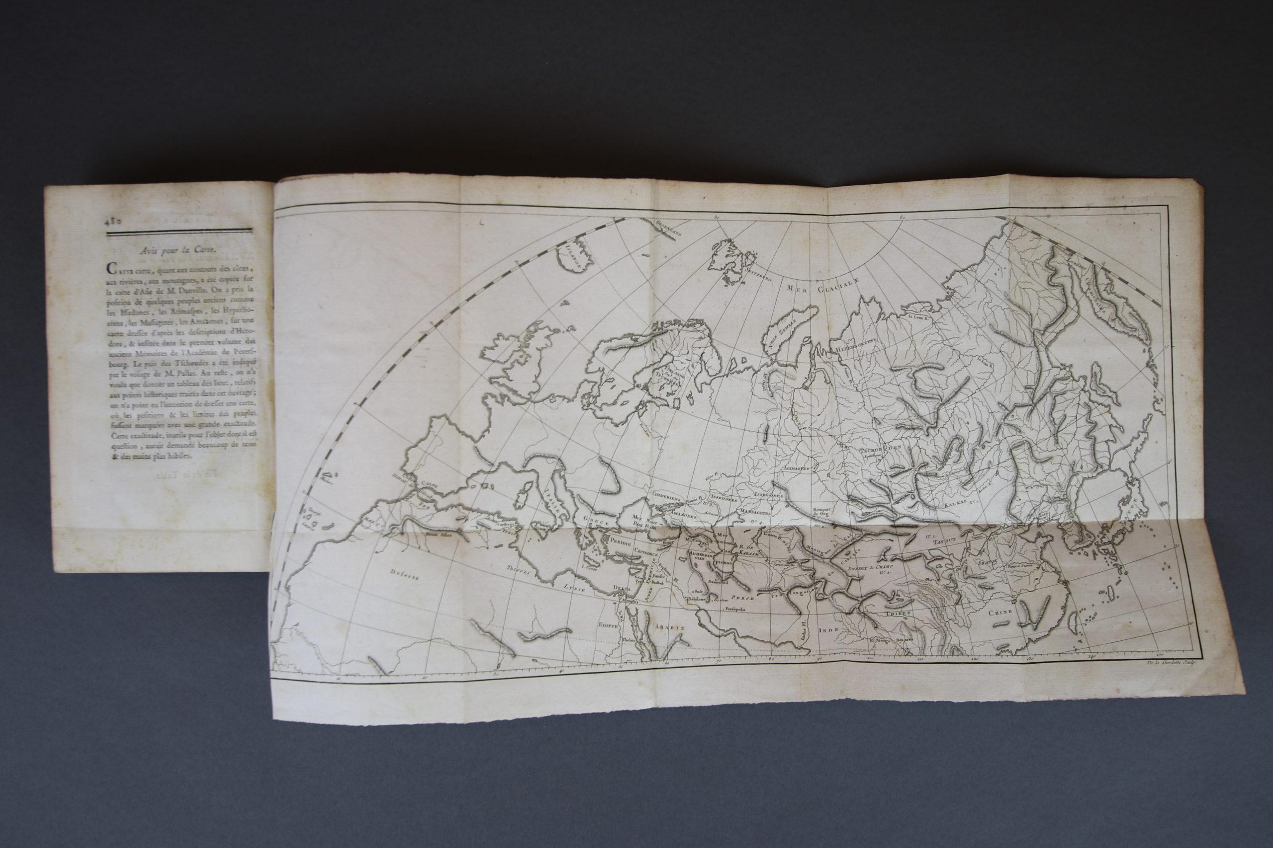 illustration livre ancien gravure carte