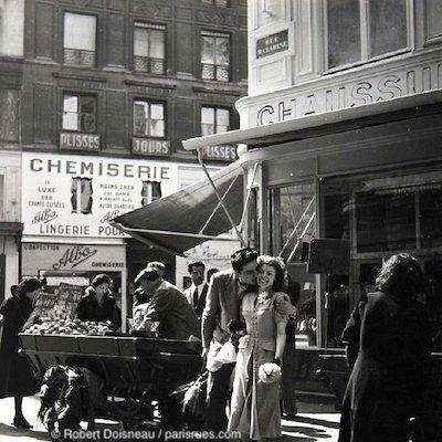 rue mazarine 1950